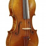 Chouhei violin front view oblique