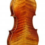 A David Folland violin -- back