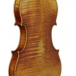 Chouhei violin back view oblique