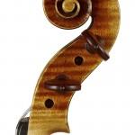 Chouhei violin scroll
