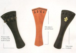 Three types of tailpieces